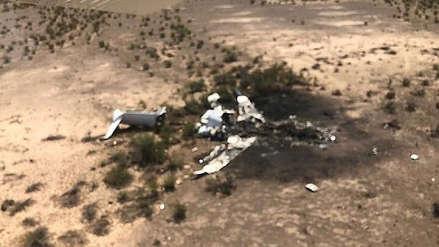 Murieron los 13 pasajeros de un jet privado de lujo que se desplomó en el norte de México