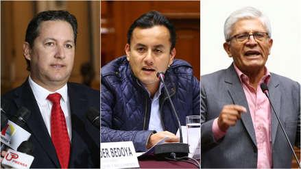 Comisión de Ética aprueba abrir investigaciones a Daniel Salaverry, Richard Acuña y Jorge Castro