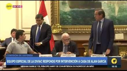 Jorge del Castillo y miembro de la Diviac protagonizaron fuerte discusión en Comisión de Defensa
