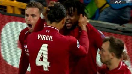 ¡Se durmieron todos! Divock Origi aprovechó desatención del Barcelona para marcar el cuarto gol de Liverpool