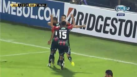 Palestino puso el empate ante Alianza Lima con este gol tras una seguidilla de pases