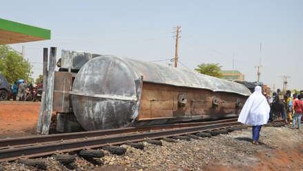 Al menos 53 muertos tras la explosión de un camión cisterna en Níger