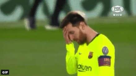 ¡Desencajado!: Así reaccionó Lionel Messi tras el cuarto gol de Liverpool en la semifinal de Champions League