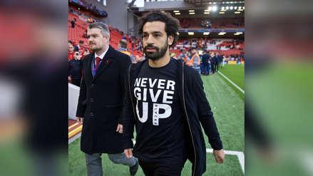 ¿Predicción?: Mohamed Salah vistió un polo con peculiar mensaje en victoria Liverpool ante Barcelona