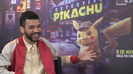 """Justice Smith, protagonista de """"Detective Pikachu"""":"""