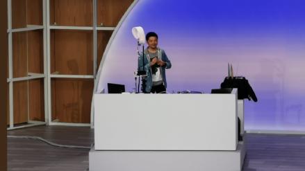 Google I/O 2019: ¿Quién ganó? DJ compite mezclando en vivo contra la inteligencia artificial
