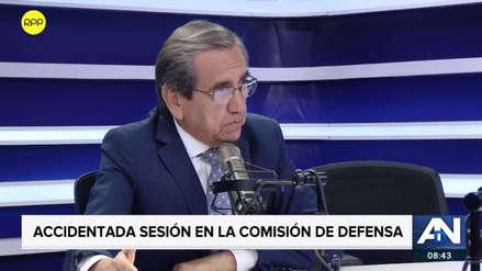 """Del Castillo culpó a Richard Arce de incidente en Congreso: """"Tuvo actitud de sobonería con la PNP"""""""