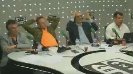 Así sufrieron periodistas españoles con el gol de Origi y la eliminación del Barcelona