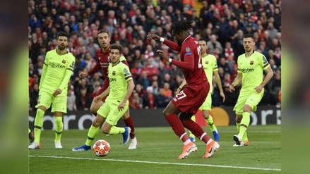 Barcelona, un desastre en defensa: el gol de Origi que lo ridiculiza en toda Europa