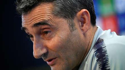 Ernesto Valverde, el DT del Barza que le remontaron dos series de Champions con tres goles a su favor