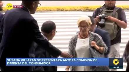 Susana Villarán asistió al Congreso para informar sobre el proyecto Línea Amarilla