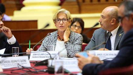 Susana Villarán evitó responder preguntas sobre el caso Lava Jato ante comisión del Congreso