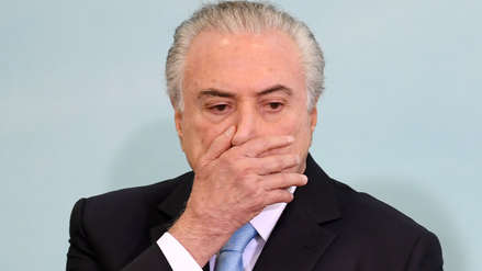 Tribunal de Brasil ordena que expresidente Michel Temer vuelva a prisión