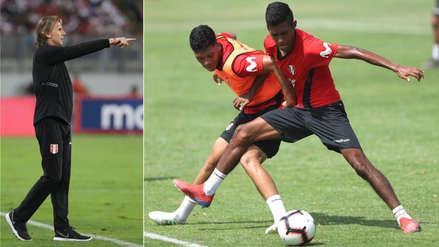 Selección Peruana Sub 23: Ricardo Gareca estuvo presente en el entrenamiento de la bicolor