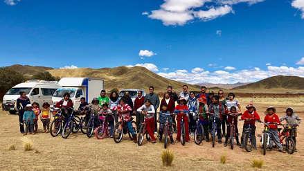 Baika: proyecto social que promueve la donación de bicicletas a niños que caminan más de dos horas para llegar a sus escuelas