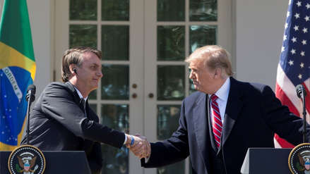 Donald Trump notificó al Congreso su intención de que Brasil sea aliado preferente fuera de la OTAN
