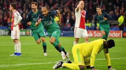 Lucas Moura metió al Tottenham a la final de la Champions League con este gol