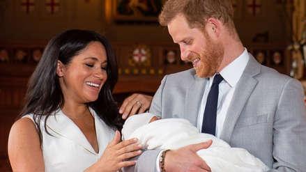 Confirman la fecha para el bautizo del hijo de Meghan Markle y el príncipe Harry