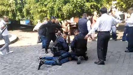 Una balacera se desató en México cuando reporteros entrevistaban a un funcionario [VIDEO]