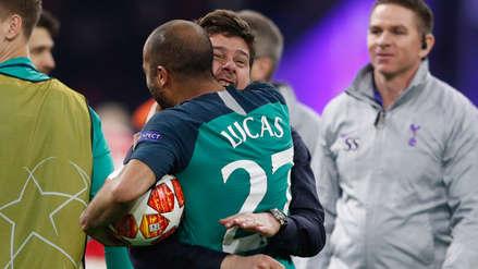 Mauricio Pochettino sobre 'hat trick' de Lucas Moura: