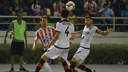 Con gol de Bernardo Cuesta, Melgar derrotó 1-0 a Junior y clasificó a la Copa Sudamericana
