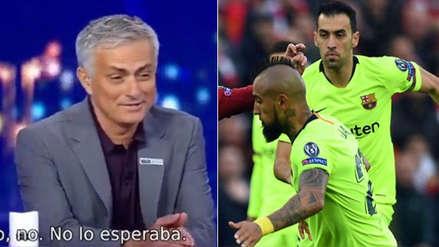 Mourinho y el 'dardo' contra Barcelona tras la derrota ante Liverpool en la Champions