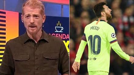 Liberman criticó duramente a Lionel Messi y Barcelona tras eliminación en Champions League