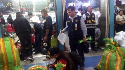 Municipalidad de La Victoria realizó operativo contra la piratería en Polvos Azules