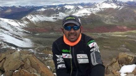 El deporte peruano está de luto: el montañista peruano Richard Hidalgo falleció en una expedición