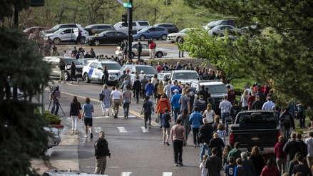 Tiroteo en escuela de Colorado dejó un muerto y media docena de heridos