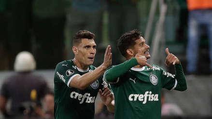 Palmeiras vence 1-0 a San Lorenzo y es el mejor de la fase de grupos de la Copa Libertadores