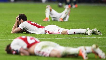 Ajax: los rostros de lamento tras perder ante Tottenham en la semifinal de la Champions
