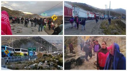 Trabajadores mineros bloquearon la Carretera Central en La Oroya