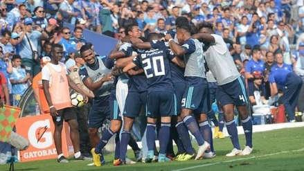 Emelec venció 2-1 a Cruzeiro por el Grupo B de la Copa Libertadores
