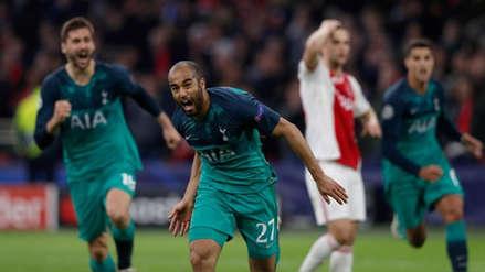 Tottenham ganó 3-2 a Ajax y clasificó a la final de la Champions League
