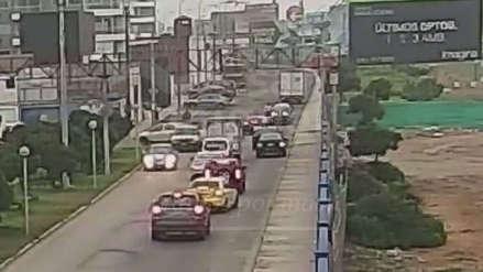 Así fue la balacera tras el frustrado asalto a un camión con electrodomésticos en San Miguel [VIDEO]