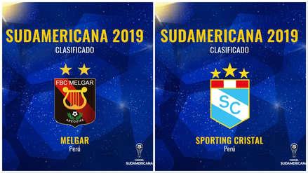 Sporting Cristal y Melgar conocieron a sus rivales en la segunda etapa de la Copa Sudamericana