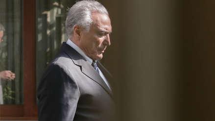 Michel Temer, expresidente de Brasil, se entregó a la Policía tras nueva orden de arresto