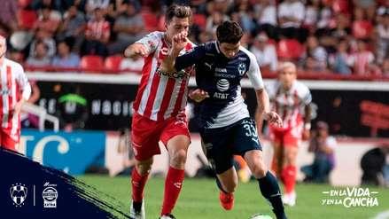 Necaxa venció 1-0 a Monterrey por los cuartos de final de la Clausura de la Liga MX