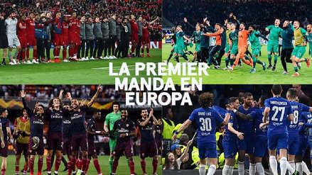 La Premier League monopoliza las finales de Europa