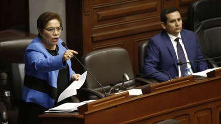 """Luz Salgado: """"Que sepa bien la población que la reforma política es para después del 2021"""""""