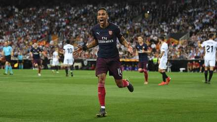 Arsenal derrotó 4-2 al Valencia y logró su pase a la final de la Europa League