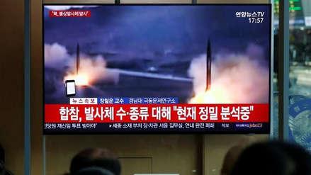 Corea del Norte vuelve a disparar proyectiles