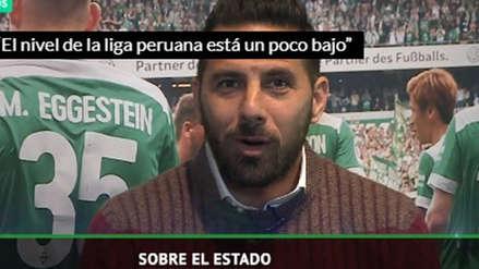 Claudio Pizarro sobre la Liga 1:
