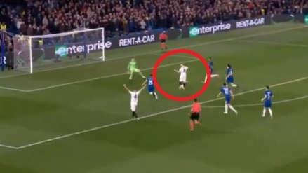Frankfurt: Luka Jovic, delantero que quiere el Real Madrid, anotó ante Chelsea tras gran definición