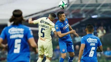 América derrotó 3-1 a Cruz Azul en partido de ida por los cuartos de final de la Liga MX