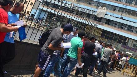 Trabajadores del Reniec suspenden huelga nacional indefinida