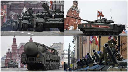 20 impresionantes fotos del desfile militar de Rusia por los 74 años de su victoria ante los nazis