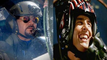 Por estas fotos comparan al gobernador regional de Arequipa con Tom Cruise en la famosa película Top Gun