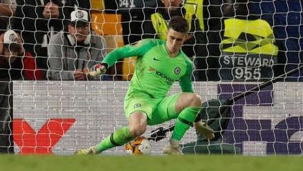Chelsea  a la final de la Europa League: Kepa Arrizabalaga fue el héroe en los penales